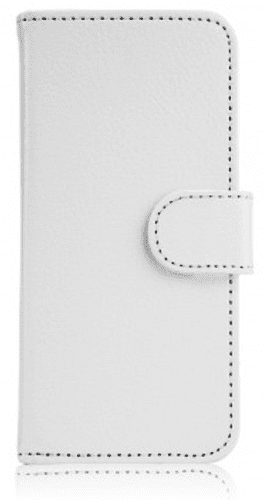 XQISIT Slim Wallet pouzdro pro iPhone SE/5S/5, bílá