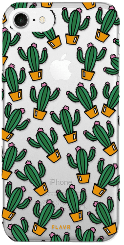 Flavr iPlate pouzdro pro iPhone 8/7/6S/6, Kaktusy