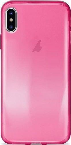 Puro Nude 0.3 pouzdro pro Apple iPhone X, růžová