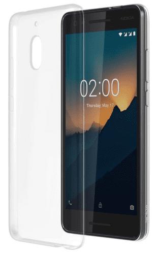 NOKIA Slim Crystal CC-120 pouzdro pro Nokia 2.1, transparentní
