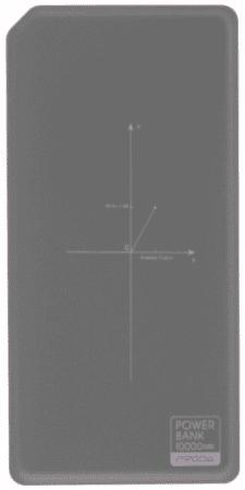Remax Proda PPP-33 powerbanka, šedá