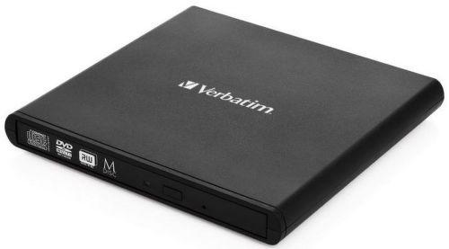 Verbatim 53504 Slimline CD/DVD černá