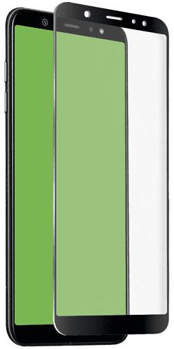 SBS 4D tvrzené sklo pro Samsung Galaxy A6 s aplikátorem, černá