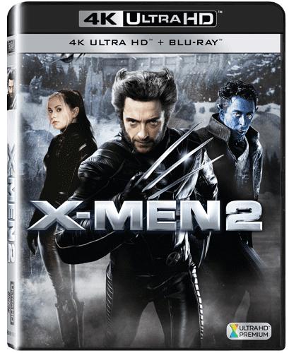 X-Men 2 - Blu-ray + 4K UHD film