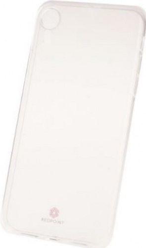 Redpoint silikonové pouzdro pro Apple iPhone Xr, transparentní