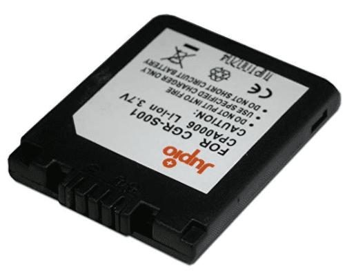 Jupio DMW-BCA7, Náhradní baterie