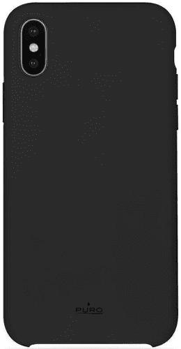 Puro Icon Cover pouzdro pro Apple iPhone Xs Max, černá