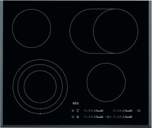 Aeg HK654070FB, černá sklokeramická varná deska