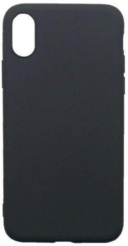 Mobilnet gumové pouzdro pro Apple iPhone Xs Max, černá