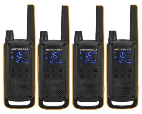 Motorola Talkabout T82 Extreme Quad, žluto-černá