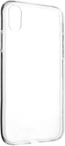 Fixed TPU gelové pouzdro pro Apple iPhone X a Xs, transparentní