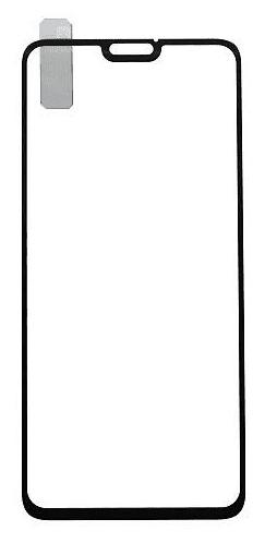 Qsklo Full Cover 2D ochranné sklo pro Honor 8X, černá