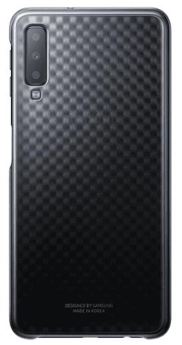 Samsung Gradation Cover zadní kryt pro Samsung Galaxy A7 2018, černá