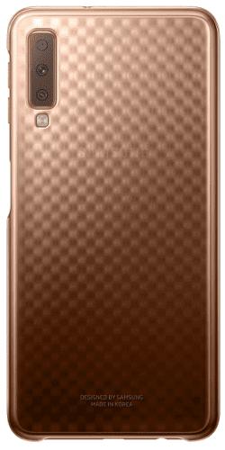 Samsung Gradation Cover zadní kryt pro Samsung Galaxy A7 2018, zlatá