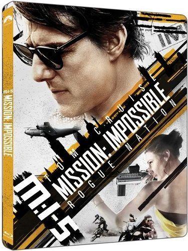 Mission: Impossible - Národ grázlů (Steelbook) - Blu-ray + 4K UHD film