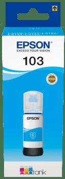 Epson 103 Cyan C13T00S24A modrá
