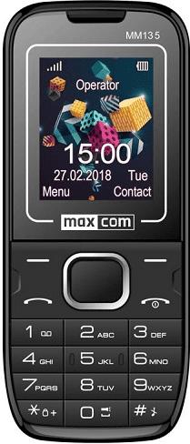 Maxcom MM135 Dual SIM modro-černý