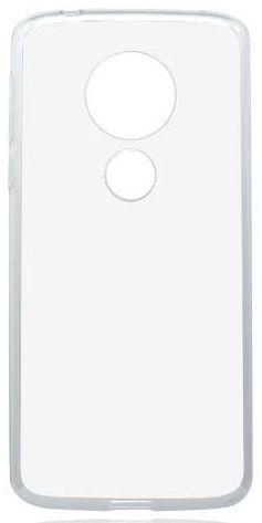 Mobilnet gumové pouzdro pro Motorola Moto G6 Play, transparentní