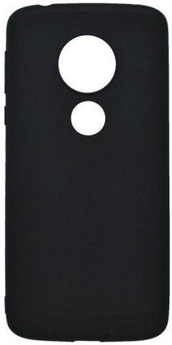 Mobilnet gumové pouzdro pro Motorola Moto E5+, matná černá