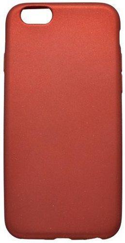 Mobilnet metalické pouzdro pro Apple iPhone 6/6s, červená