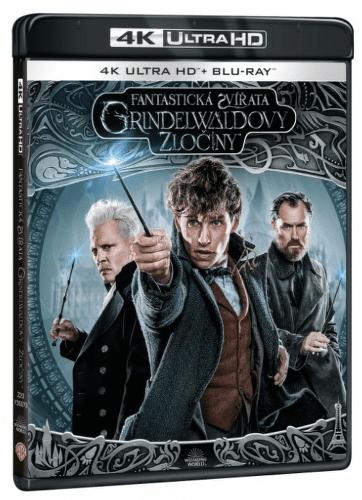 Fantastická zvířata: Grindelwaldovy zločiny - UHD BD a BD