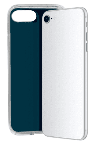 SBS Glue TPU pouzdro pro Apple iPhone 8, 7, 6 a 6s, tmavá modrá
