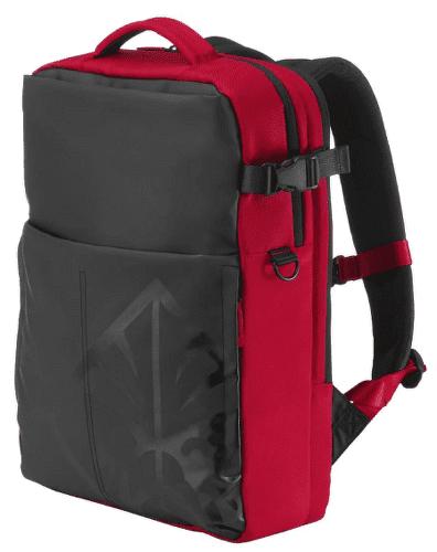 """HP OMEN Gaming 17"""" batoh, černo-červená"""