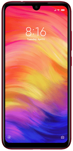 Xiaomi Redmi Note7 64 GB červený
