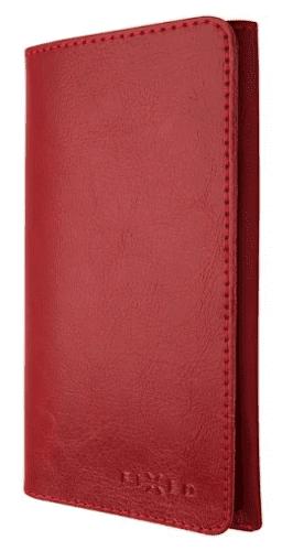 Fixed Pocket Book kožené pouzdro pro Apple iPhone X a Xs, červená