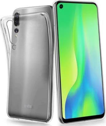 SBS Skinny silikonové pouzdro pro Huawei P30, transparentní