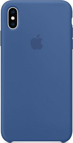 Apple silikonové pouzdro pro Apple iPhone Xs Max, modrá