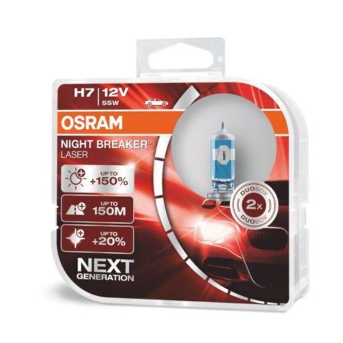 Osram H7 Night Breaker Laser, Autožárovka