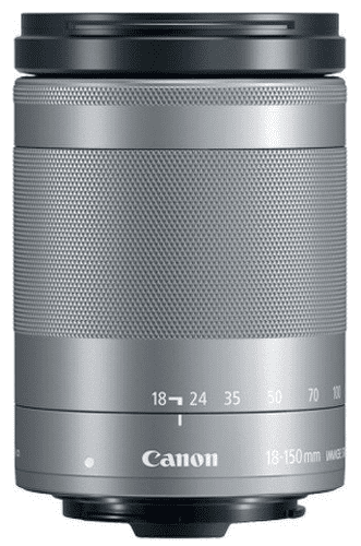 Canon EF-M 18-150mm f/3,5-6,3 IS STM, stříbrný