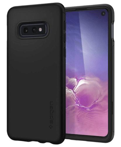 Spigen Thin Fit 360 pouzdro pro Samsung Galaxy S10e, černá