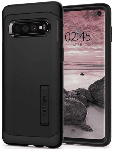 Spigen Slim Armor pouzdro pro Samsung Galaxy S10, černá