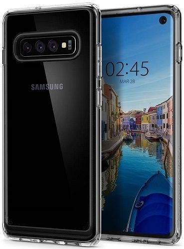 Spigen Crystal Hybrid pouzdro pro Samsung Galaxy S10, transparentní