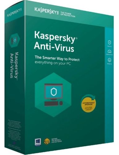 Kaspersky Anti-Virus 2018 3PC/1R