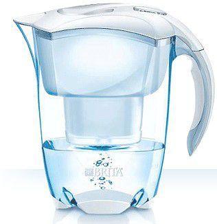 BRITA Elemaris Cool Meter, vodný filter - kanvica biela