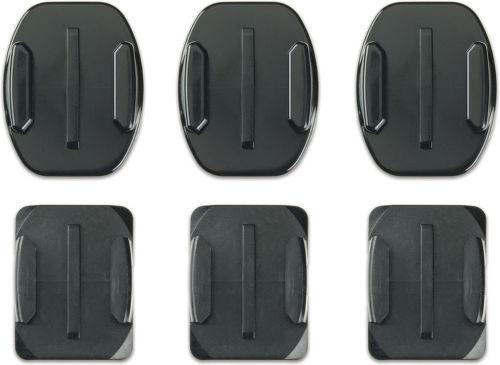 GoPro Flat + Curved Adhesive Mounts - ploché a zakřivené nalepovací držáky