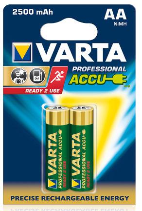 VARTA Professional Accu HC 2500 mAh 2xAA