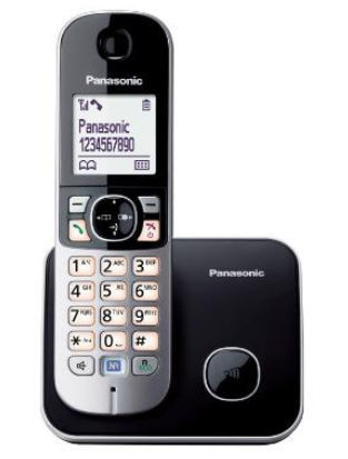 PANASONIC KX-TG6811FXB, bezdrôtový telefón