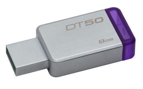 KINGSTON 8GB DataTrav. 50, USB kľúč
