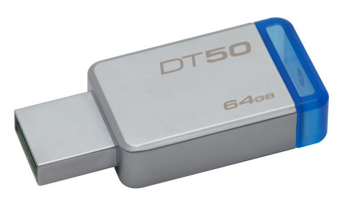 KINGSTON 64GB DataTrav. 50, USB kľúč