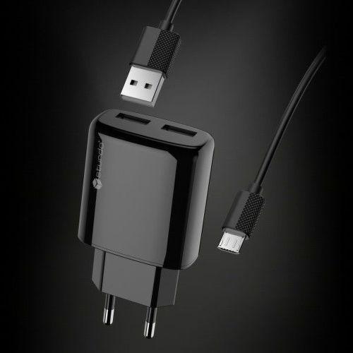 STURDO USB nab. + kábel, Sieťová nabíjaš