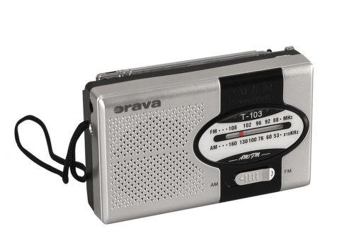 ORAVA T-103, Vreckové rádio