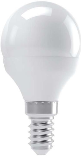 EMOS LED mini globe, Žiarovka 6W E14 WW
