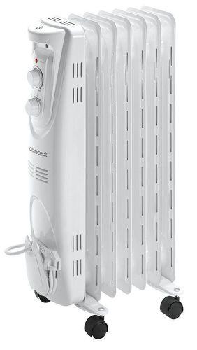 CONCEPT RO3207, bílý olejový radiátor