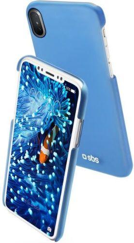 SBS Color Feel pouzdro pro Apple iPhone X a Xs, modrá