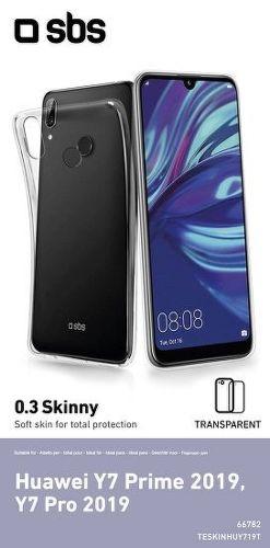 SBS Skinny Cover pouzdro pro Huawei Y7 2019/Y7 Pro 2019, transparentní