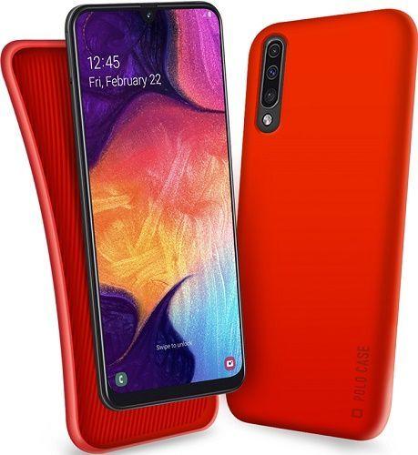 SBS TPU Polo pouzdro pro Samsung Galaxy A50, červená